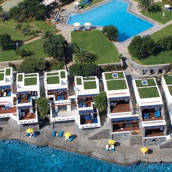elounda beach hotel  villas panoramic
