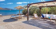 beach area at elounda gulf villas  suites, Crete