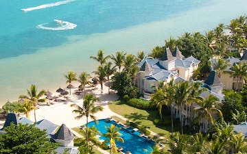 Aerial View of Heritage Le Telfair Golf & Wellness Resort, Mauritius