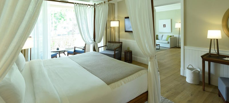 Senior suite at Heritage Le Telfair Golf & Spa Resort, Mauritius
