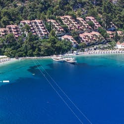 Mediterranean Coastal Location at Hillside Beach Club, Fethiye, Turkey