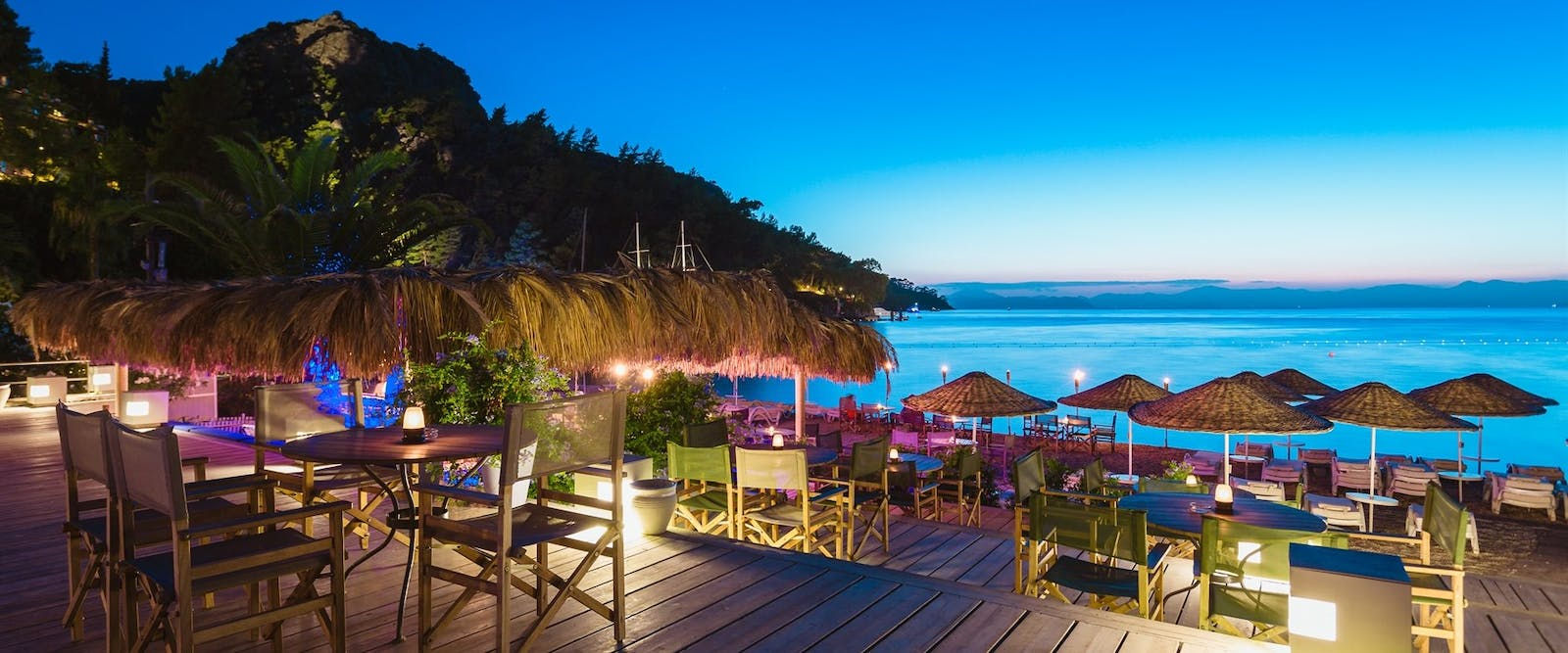 Not a Care in the World at Hillside Beach Club, Fethiye, Turkey