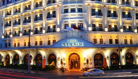 Exterior of Hotel Majestic