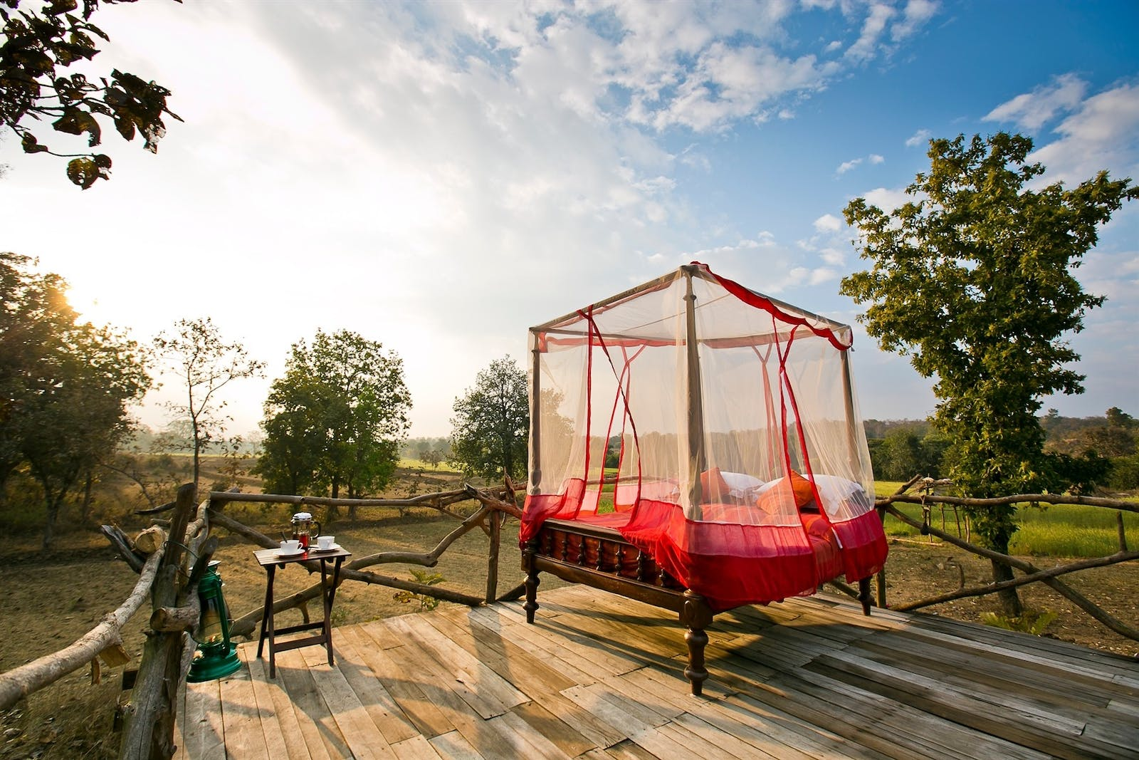 jamtara wilderness camp star bed