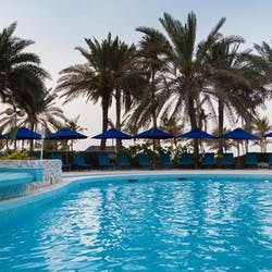 Swimming pool at JA Beach Hotel, Dubai