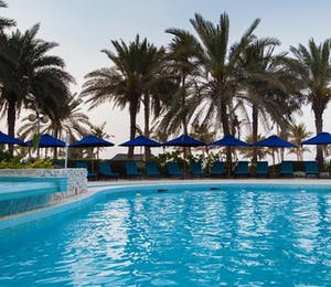 Swimming pool at JA Jebel Ali Beach Hotel, Dubai