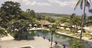 Pool area at belmond jimbaran puri, Bali