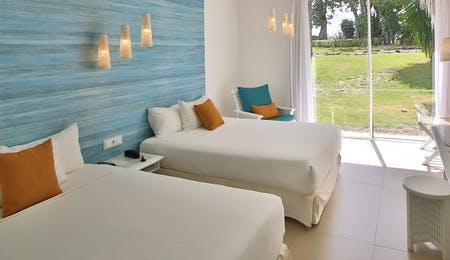 Superior Twin Bedroom at La Creole Beach Hotel & Spa, Guadeloupe
