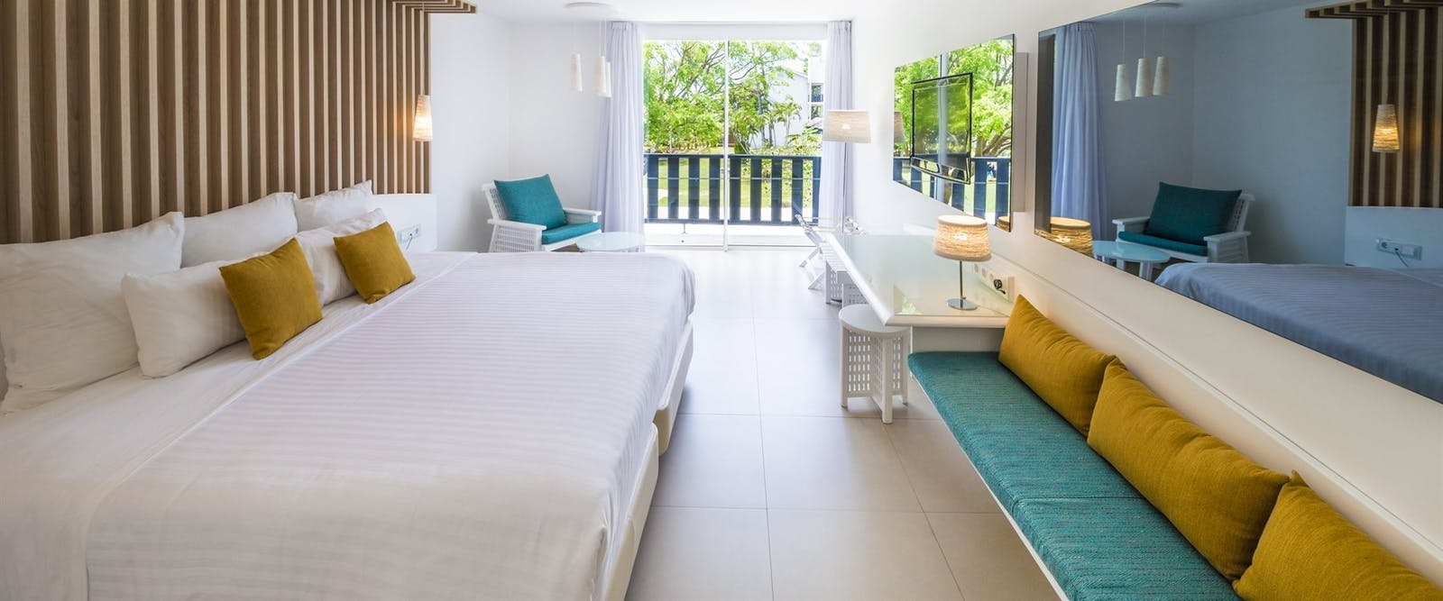 Superior King Bedroom at La Creole Beach Hotel & Spa, Guadeloupe