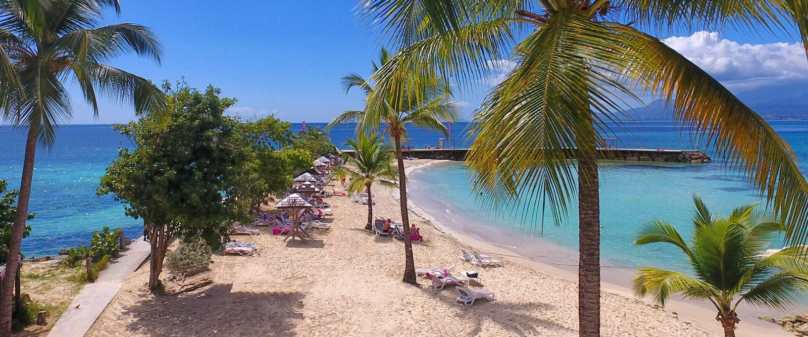 Beach Area at La Creole Beach Hotel & Spa, Guadeloupe