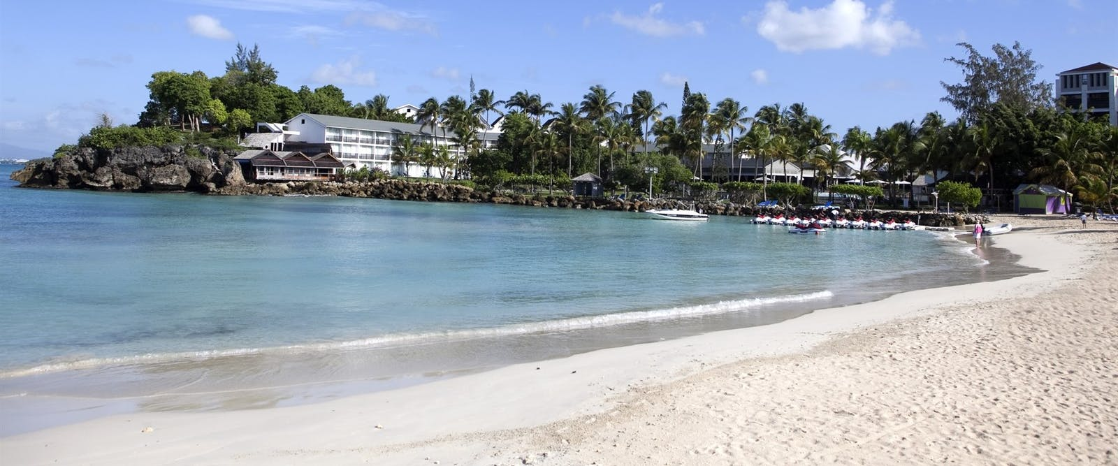 Beach at La Creole Beach Hotel & Spa, Guadeloupe