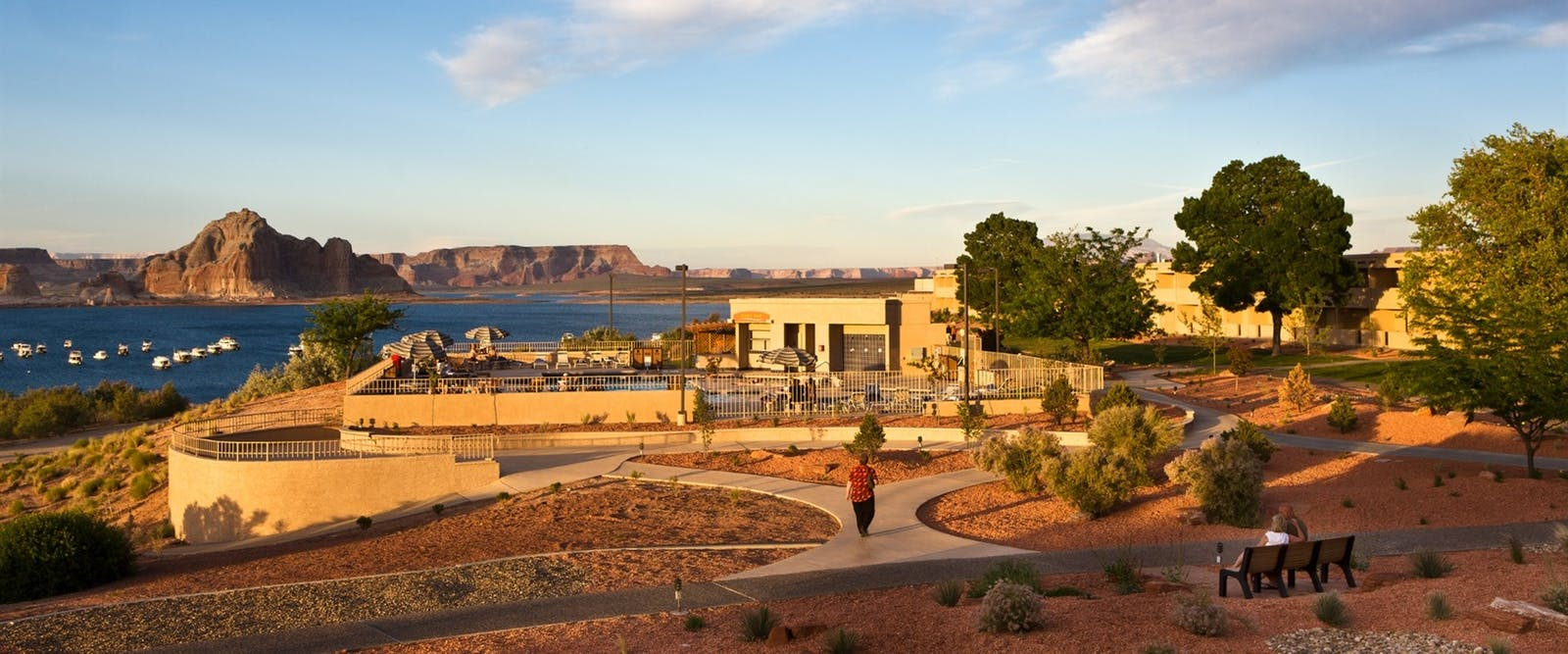 lake powell resort  marina