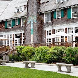 Exterior of Lake Quinault Lodge, Olympic National Park