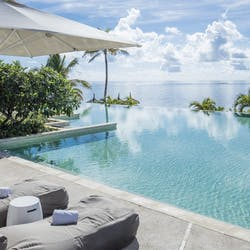 Swimming Pool at Long Beach Golf & Spa Resort, Mauritius