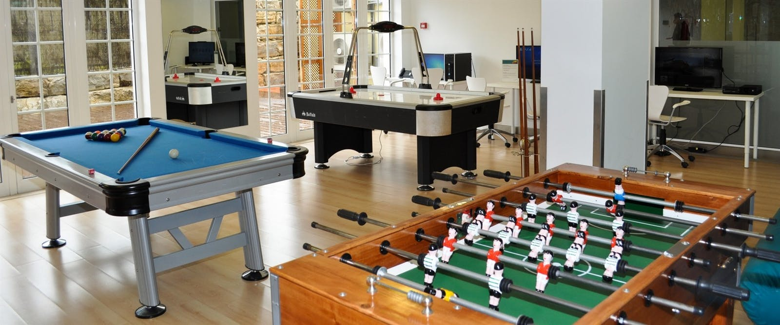 Games Room at Martinhal Quinta Family Resort, Algarve
