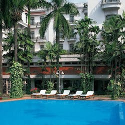 swimming pool at oberoi grand, Calcutta