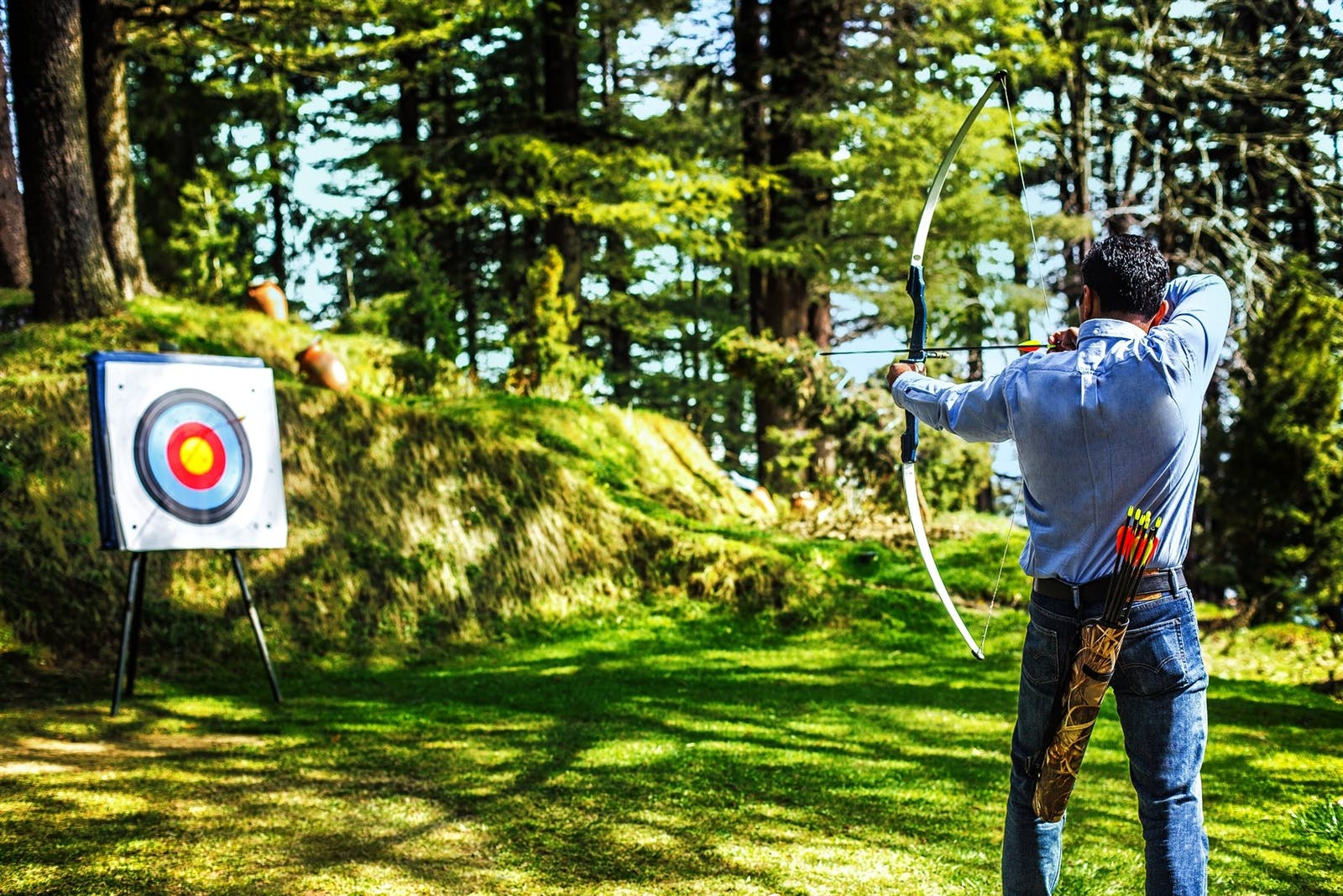 archery at wildflower hall an oberoi resort