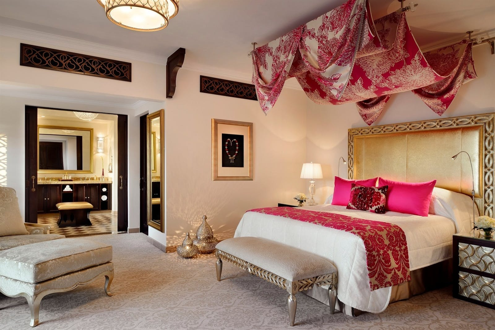 Arabian Court Prince Suite at One&Only Royal Mirage, Dubai