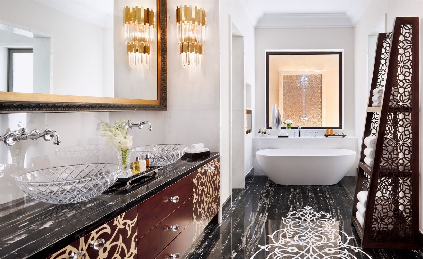 Bathroom at One&Only Royal Mirage, Dubai
