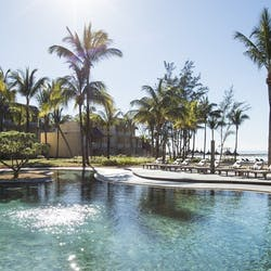 Main Swimming Pool at Outrigger Mauritius Resort