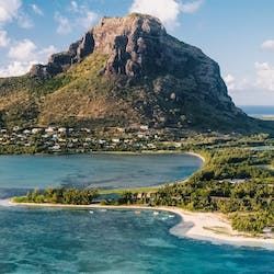 Aerial View of Paradis Beachcomber Golf Resort & Spa, Mauritius