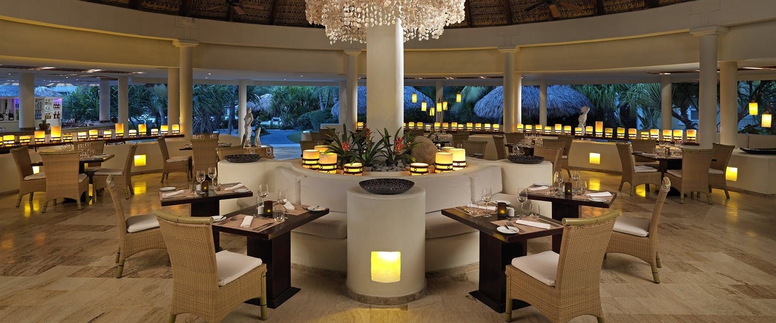 Natural Juice Bar at Paradisus Palma Real Golf & Spa Resort, Dominican Republic