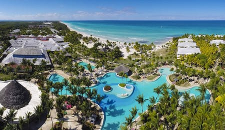 Aerial View of Paradisus Varadero