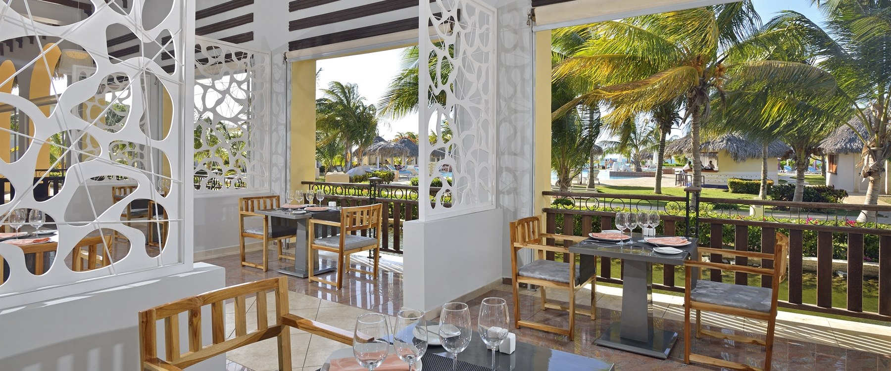 Restaurant Terrace at Paradisus Varadero