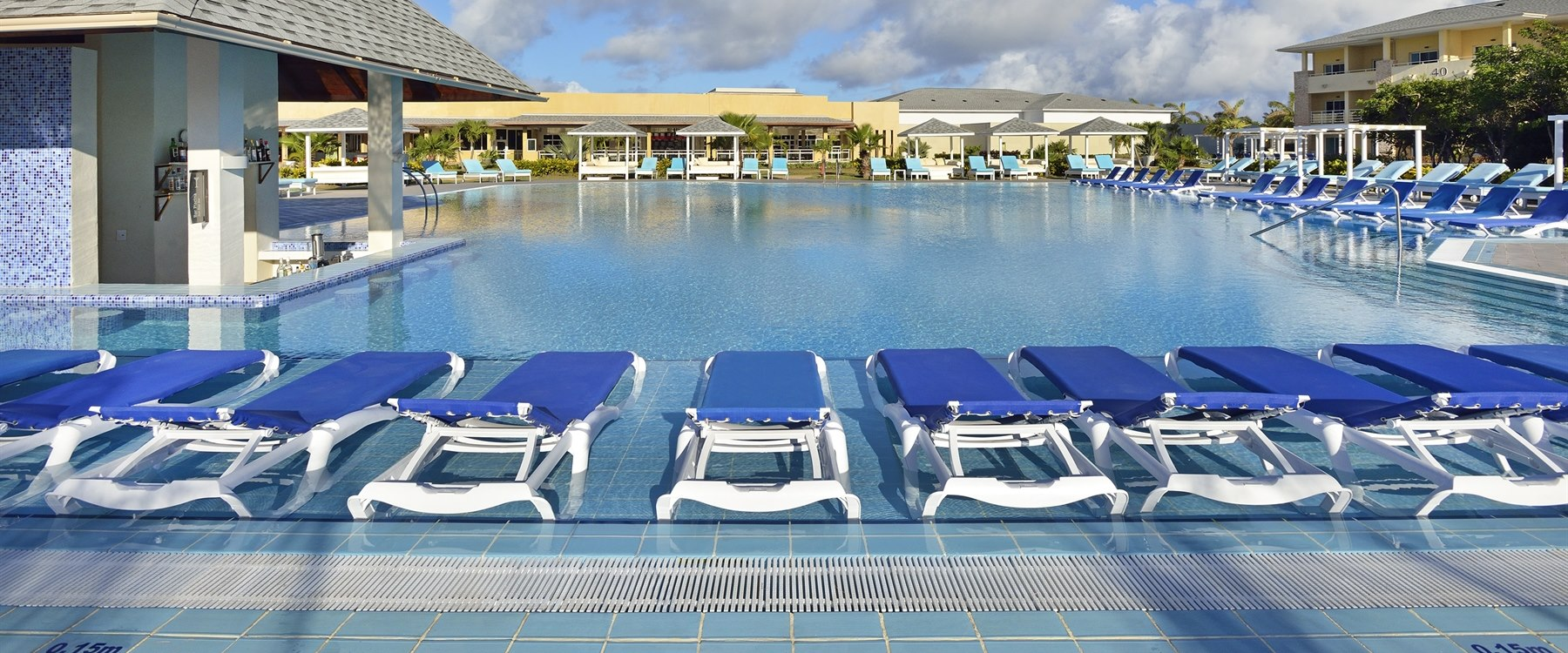 Pool Area at Paradisus Varadero