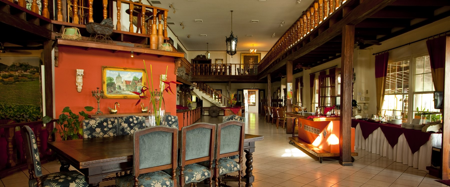 Interior of Parador Resort & Spa