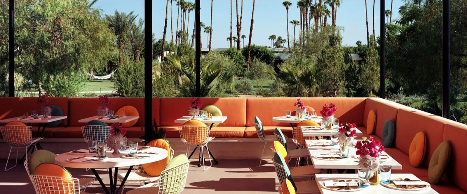 Normas Alfresco Dining, Parker Palm Springs, California