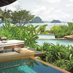 View from the swimming pool at Phulay Bay - A Ritz Carlton Reserve