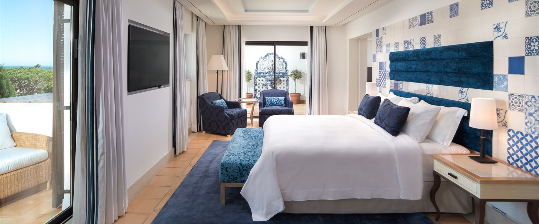 Bedroom at Pine Cliffs - A Luxury Collection Resort, Portugal