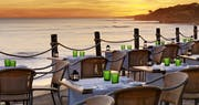Sunset terrace dining at Pine Cliffs - A Luxury Collection Resort, Portugal