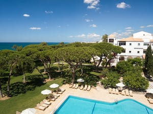 beach area pine cliffs a luxury collection resort algarve