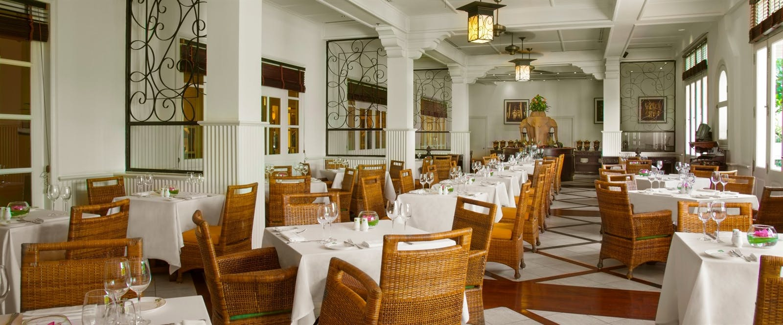 Cafe 'Angkor at Raffles Grand Hotel d'Angkor, Cambodia