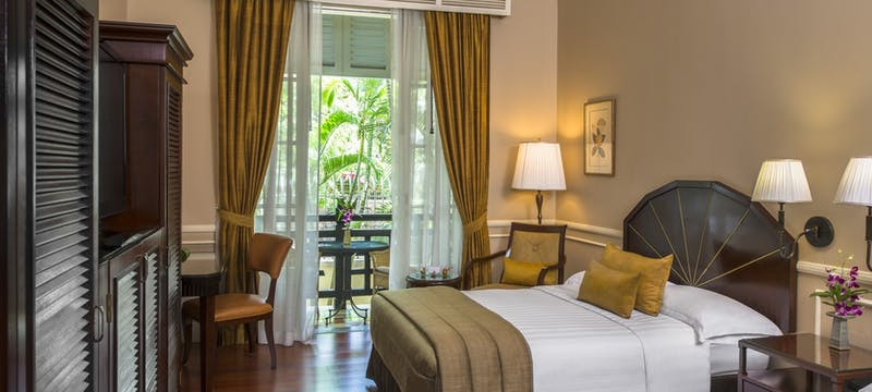 landmark room at Raffles Hotel le Royal, Cambodia