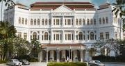 Exterior of Raffles, Singapore
