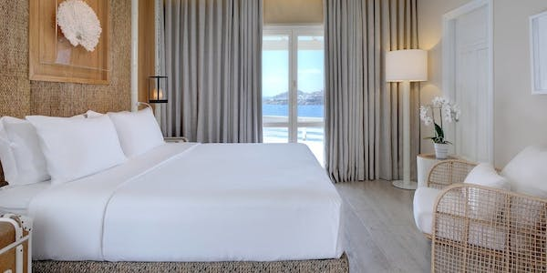 superior and deluxe sea view room