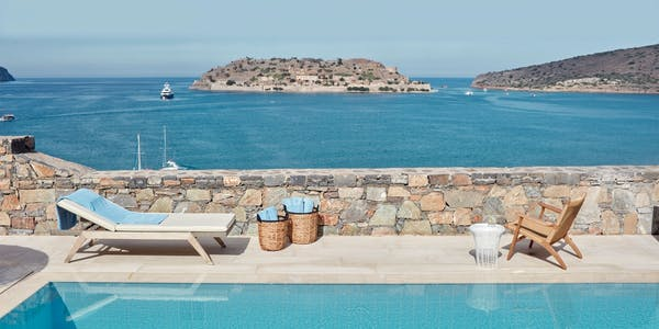 island luxury suite sea view with private pool