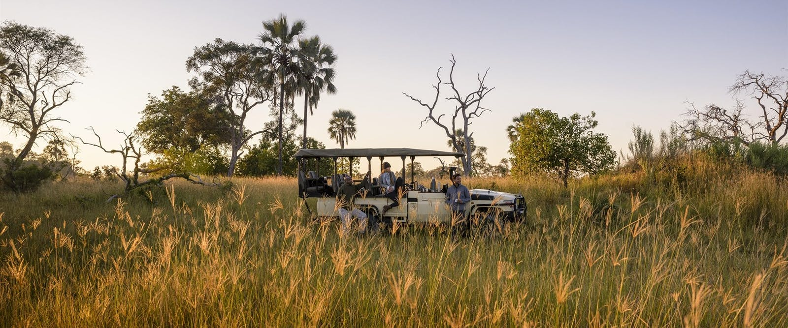 Game Drive at Sanctuary Stanley's Camp, Botswana