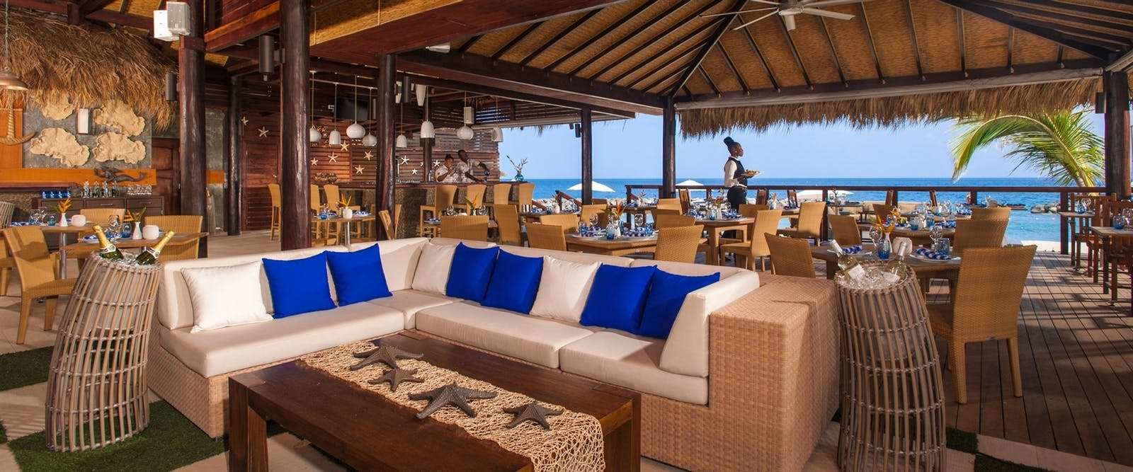 Neptune's Restaurant at Sandals LaSource Grenada Resort & Spa, Grenada