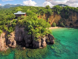 Zabuco Honeymoon Villa at Secret Bay, Dominica