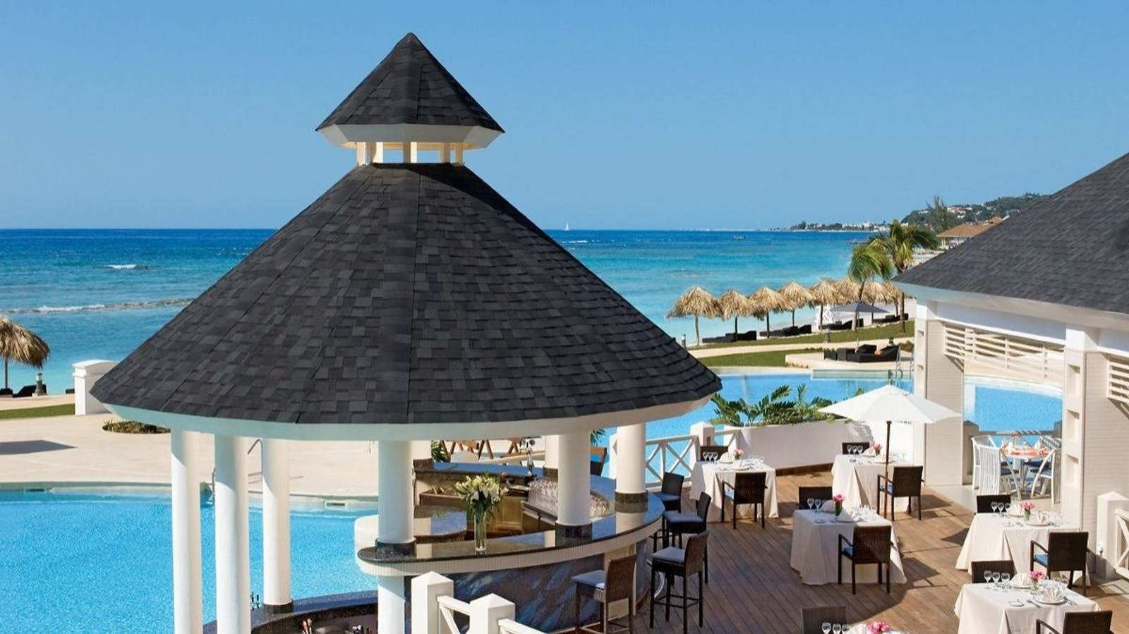 Seaside Grill at Secrets Wild Orchid Montego Bay, Jamaica