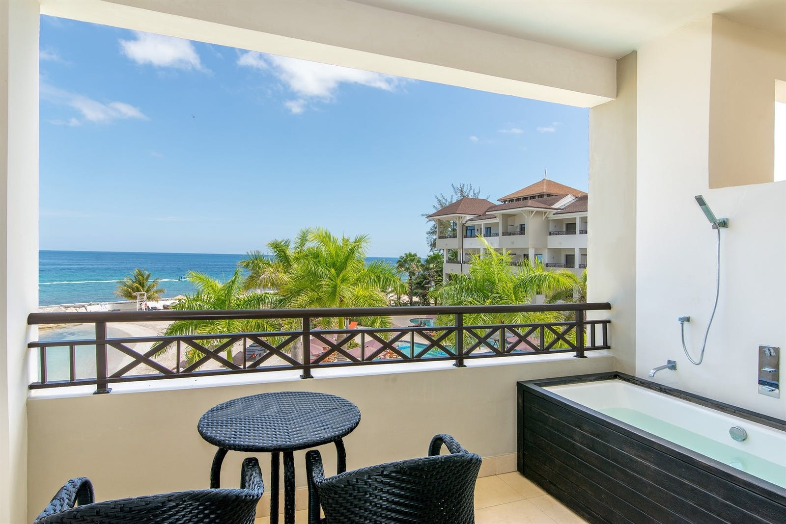 Suite Balcony at Secrets Wild Orchid Montego Bay, Jamaica
