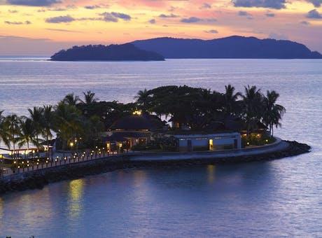 shangri-las tanjung aru resort  spa