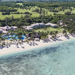 Aerial View of Sugar Beach Resort & Spa, Mauritius