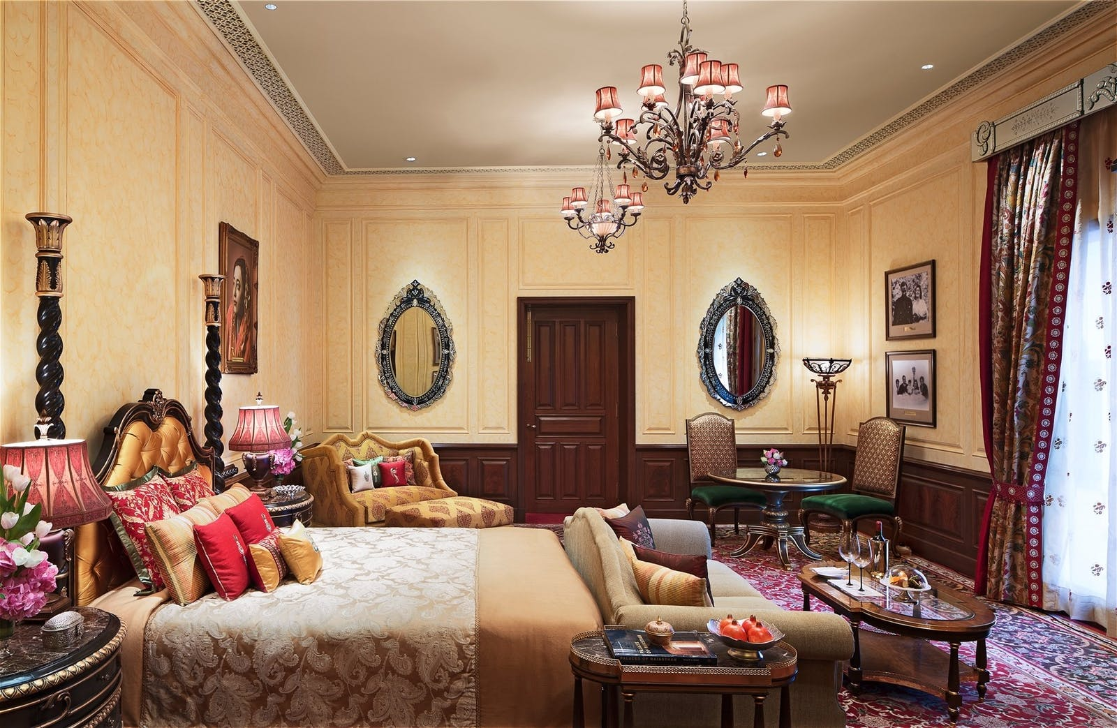 grand royal suite at rambagh palace jaipur