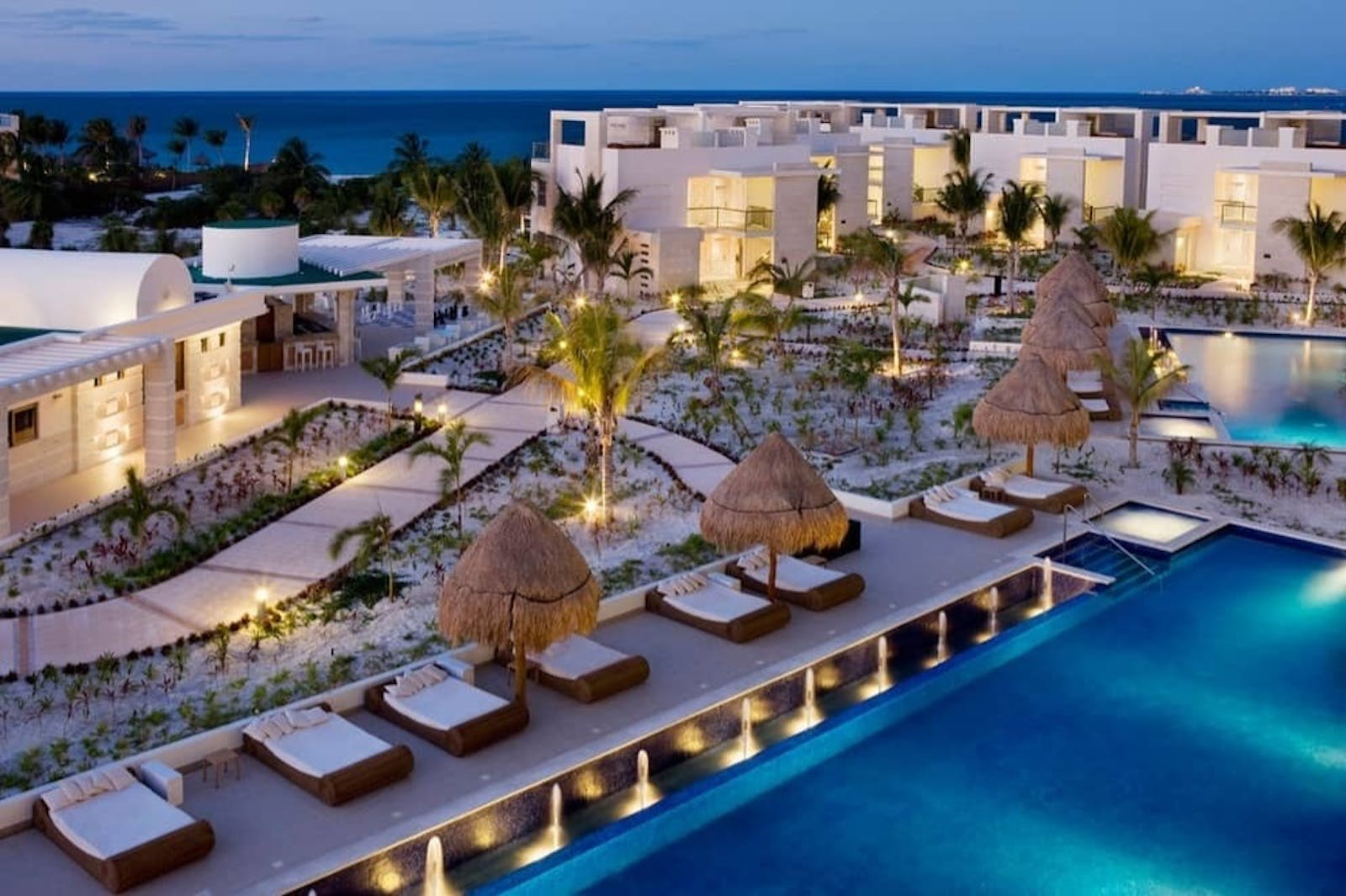 The Beloved Pool at The Beloved Hotel, Riviera Maya, Mexico