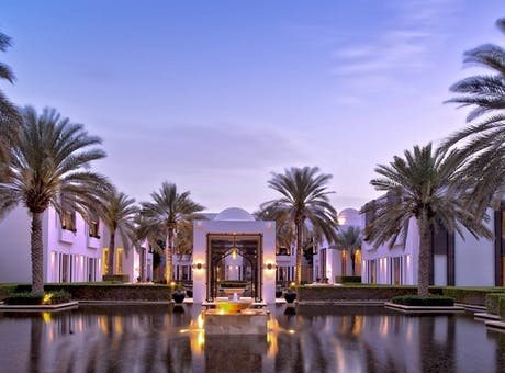 Exterior of The Chedi Muscat, Oman